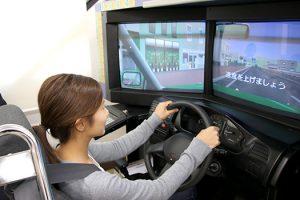 下田自動車学校 運転シミュレーター